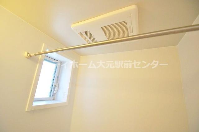 浴室乾燥機もあります!