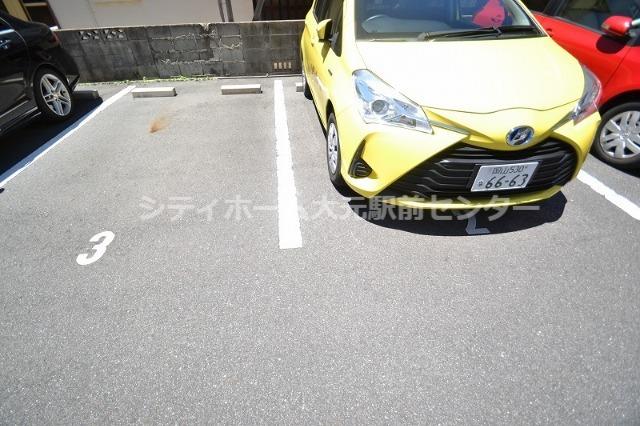 駐車場も停めやすい!