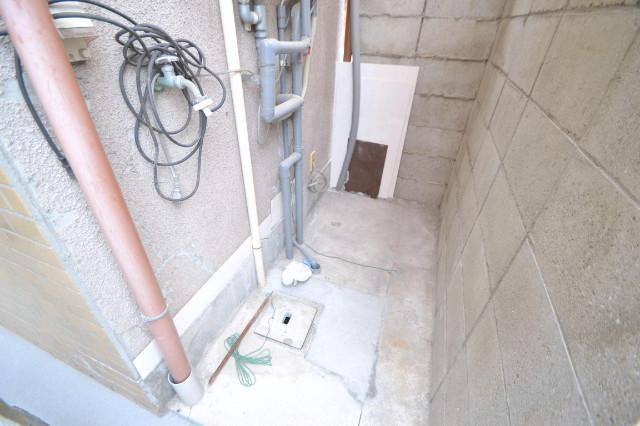 室外洗濯機置き場(屋根付き)